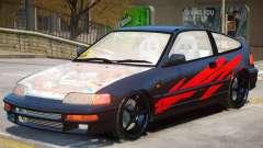1992 Honda CRX V1 для GTA 4