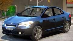 Renault Fluence V1 для GTA 4