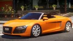 Audi R8 FSI Spyder для GTA 4