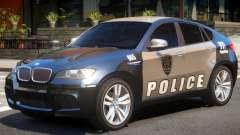 BMW X6 Police для GTA 4