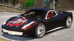 Ferrari 458 Challenge PJ3 для GTA 4