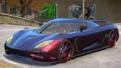 Koenigsegg Agera V1 для GTA 4