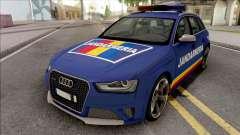 Audi RS4 Jandarmeria Romana для GTA San Andreas