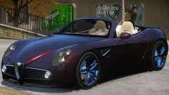 Alfa Romeo Spider для GTA 4