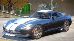 Dodge Viper GTS V2.4 для GTA 4