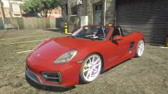 2016 Porsche Boxster GTS 1.0 для GTA 5