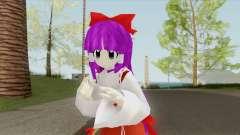 Reimu Hakurei V3 (Touhou) для GTA San Andreas