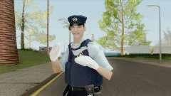 Japanese Police Skin для GTA San Andreas