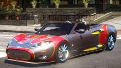 Spyker C8 V1.1 PJ2 для GTA 4