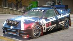 Ford RS200 Drift V1 PJ2 для GTA 4