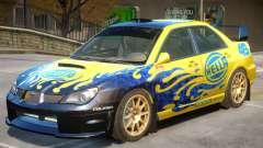 Subaru Impreza WRX V1 PJ4 для GTA 4
