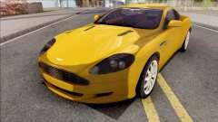 Aston Martin DB9 Full Tunable HQ Interior для GTA San Andreas