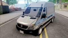 Mercedes-Benz Sprinter 2013 Comum v4 для GTA San Andreas