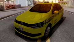 Volkswagen Voyage G6 Taxi JF для GTA San Andreas
