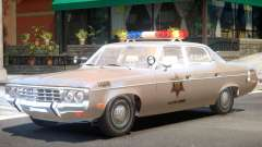 AMC Matador Sheriff V1 для GTA 4