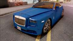 Rolls-Royce Dawn 2019 Low Poly для GTA San Andreas