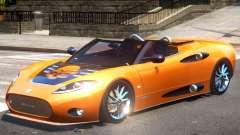 Spyker C8 V1.1 PJ3 для GTA 4