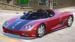 Koenigsegg CCX Roadster V1 для GTA 4