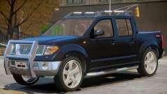 Nissan Frontier V1 для GTA 4