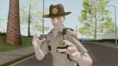 Leon Arklay Sheriff (RE2 Remake) для GTA San Andreas