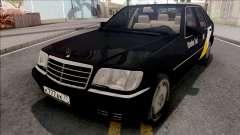 Mercedes-Benz S600L W140 Yandex Taxi Black