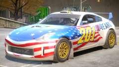 Nissan 350Z Drift V1 PJ6 для GTA 4
