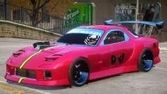 Mazda RX-7 PJ4 для GTA 4