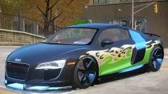 Audi R8 FSI Upd PJ для GTA 4