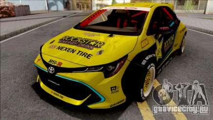 Toyota Corolla 2019 Fredric Aasbo для GTA San Andreas
