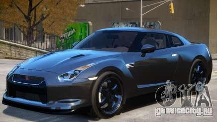 Nissan GTR R35 V1 для GTA 4