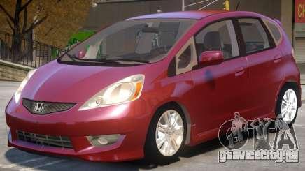 Honda Fit V1 для GTA 4