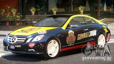 Mercedes Benz E500 V1 PJ2 для GTA 4