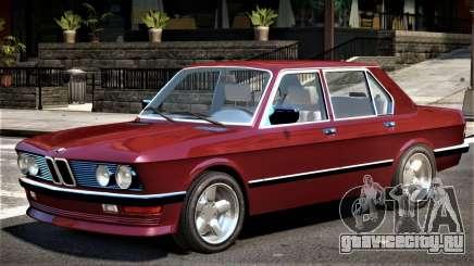 1982 BMW 518 E28 для GTA 4