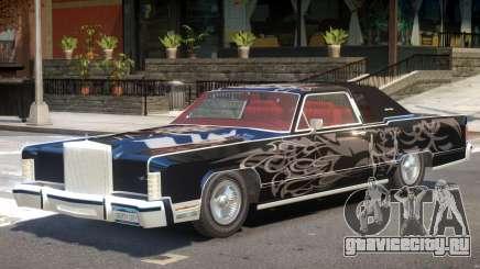 1979 Lincoln Continental для GTA 4