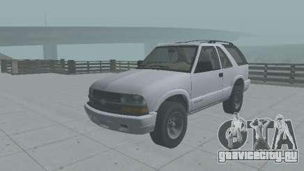 Шевроле Блейзер 2001 для GTA San Andreas