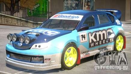 Subaru Impreza Drift V1 PJ3 для GTA 4