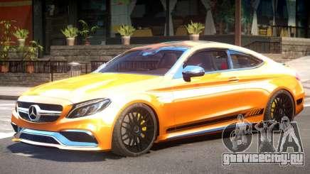 Mercedes Benz C63S V1 для GTA 4