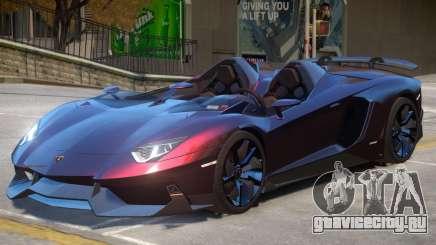 Aventador Roadster V1 для GTA 4