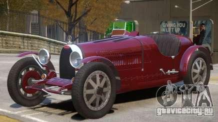 1925 Bugatti Type 35C V1 для GTA 4