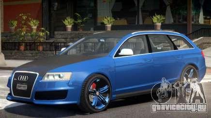 Audi RS6 Avant R1 для GTA 4