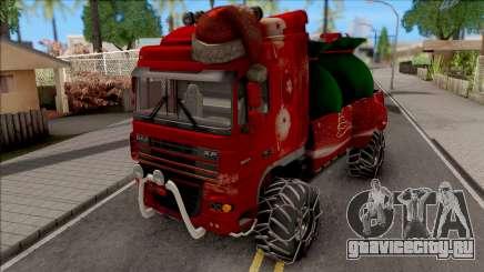 DAF XF Christmas Truck для GTA San Andreas