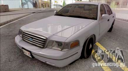 Ford Crown Victoria Civil RHA для GTA San Andreas
