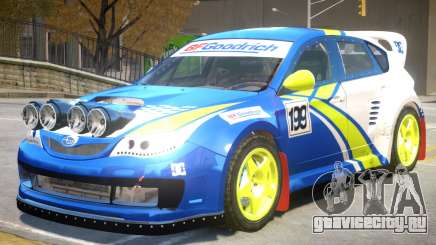 Subaru Impreza Drift V1 PJ7 для GTA 4