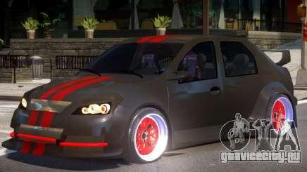 Dacia Logan Tuning для GTA 4