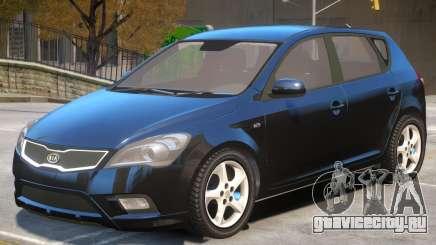Kia Ceed V1 для GTA 4