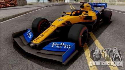 McLaren MCL34 F1 2019 для GTA San Andreas