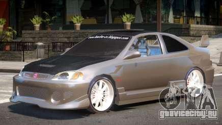 Honda Civic Type-R Upd для GTA 4
