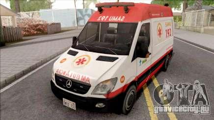Mercedes-Benz Sprinter 2013 Ambulancia для GTA San Andreas