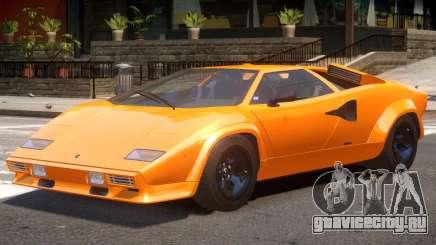 1985 Lambo Countach для GTA 4