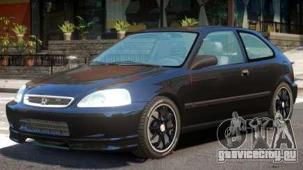 1996 Honda Civic CX для GTA 4